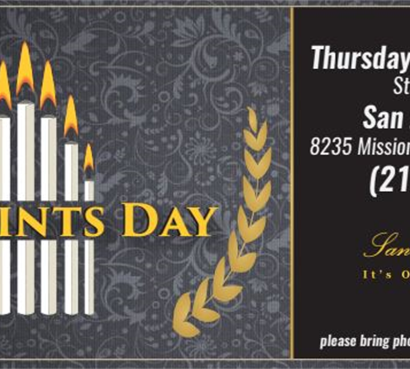 All Saints Day Celebration-San Jose Cemetery